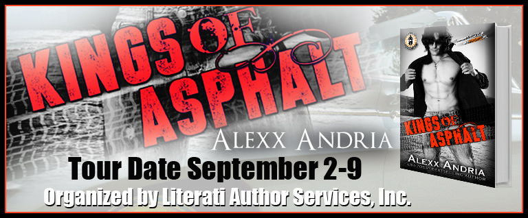 Kings of Asphalt by Alexx Andria Blog Tour