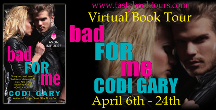Bad For Me Codi Gary Blog Tour