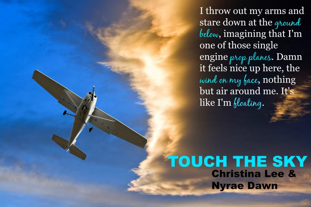 Touch the sky Christina Lee and Nyrae Dawn