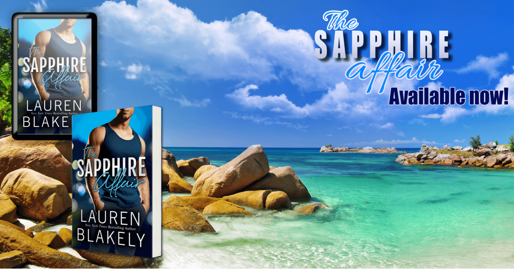 The Sapphire Affair by Lauren Blakely available now
