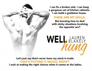 Well Hung by Lauren Blakely Teaser
