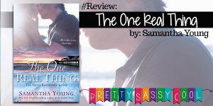 The One Real Thing Samantha Young