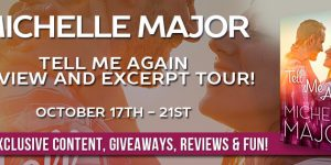 Tell Me Again by Michelle Major Tour Banner