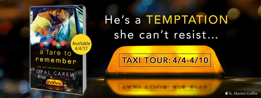 A Fare to Remember Opal Carew Blog Tour