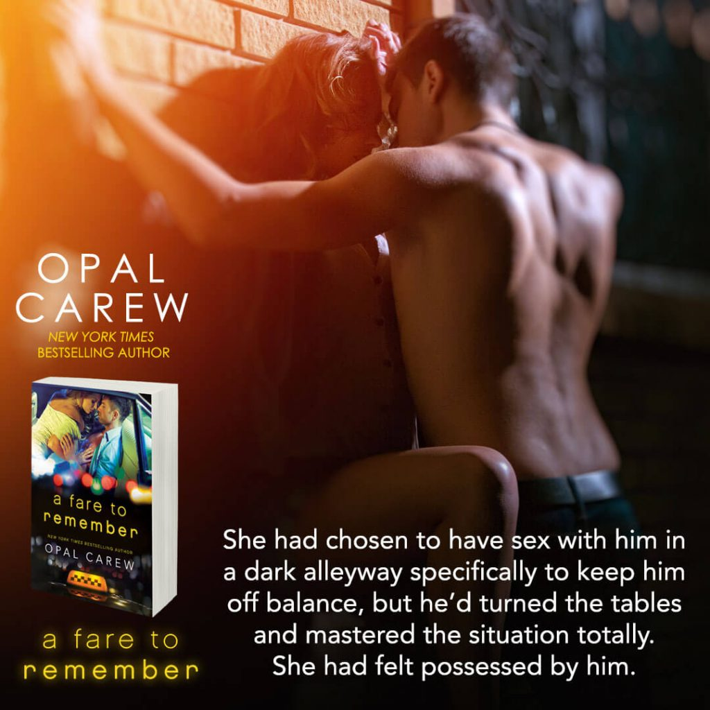 A Fare to Remember by Opal Carew teaser