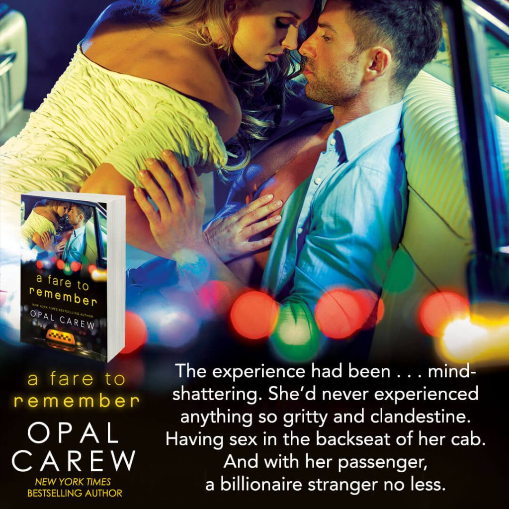 A Fare to remember opal carew
