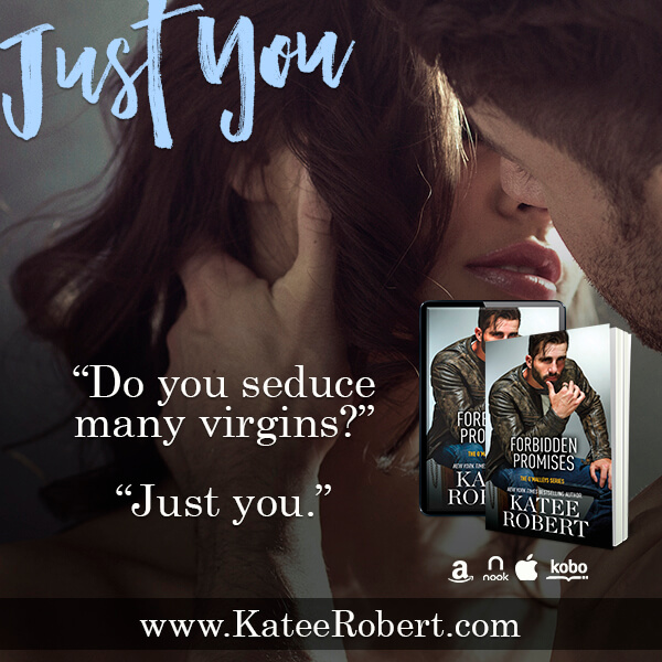 Forbidden Promises by Katee Robert teaser graphic