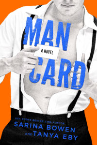 {Cover Reveal} Man Card by Sarina Bowen & Tanya Eby